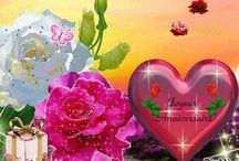 JOYEUX ANNIVERSAIRE - HAPPY BIRTHDAY -