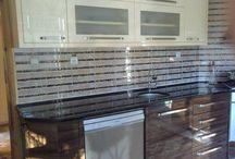 Akrilik Mutfak Dolapları ile Tasarlanmış 15 Harika Mutfak / Akrilik Mutfak Dolapları ile Tasarlanmış 15 Harika Mutfak  http://www.dekordiyon.com/akrilik-mutfak-dolaplari/