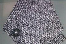 Golas / Golas artesanais feitas em tecido.  Ideal para os dias frios de inverno!