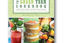 The Green Teen Cookbook / The Green Teen Cookbook: Recipes for all Seasons--written by teens, for teens, is published by Zest Books and distributed by Houghton Mifflin Harcourt.