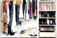 Closet ideas / by Viki Hoover