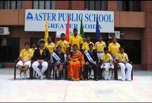 Aster Public School - Greater Noida / Aster Public School greater Noida is affiliated to CBSE w with a perfect blend of technology, modern facilities and innovation campus to children's and teachers. To get Greater Noida Schools Admission Call @ + (91) - 8010109090 or visit at http://greaternoida.asterpublicschool.com
