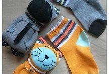 Игрушки из носков