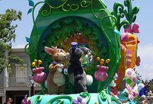 Springtime at Disneyland