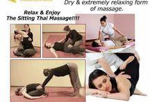 Introducing sitting #thai_massage