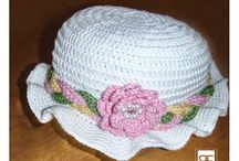 Summer collection / Handmade crochet hats and shoes for babies