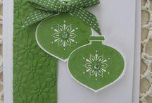vihreätpallo kortti joulu