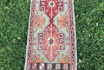 Small Turkish Rugs / Vintage Turkish Rug, Oushak Rug,Home Decor,Area Rug,  Bohemian Decor,Floor Rug,Rustic Decor,Bathroom Rug,Welcome Rug,Floor Mat,Door Mat