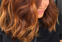 Autumn hair color inspiration