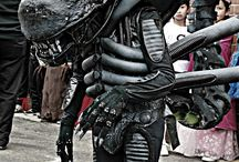 Costume - Alien Xenomorph  / My husband made this for our oldest boy last year - he rocked this costume!