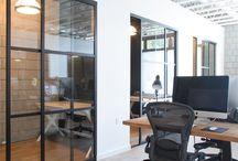 Wnętrza industrialne - biura