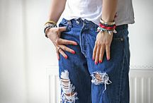 джинсы-дырки