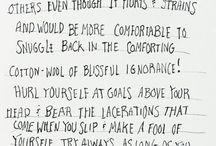 Words / by Kirsten Schober