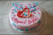 Winx cakes