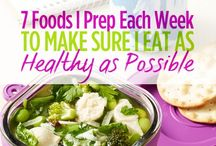 Healthy Eating & Pantry Organization / Ideas for meal planning, pantry organization and pre-prepping for the week.
