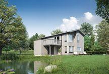 Systemhus Trend 3 / Systemhus Trend 3 er et ferdighus med enkle former og praktiske løsninger.