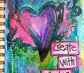 Art / Creativity - Joanne Sharpe / by Marti is YarleysGirl