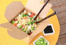 califlower fried rice dish