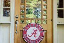University of Alabama Fan Decor and Tailgating Ideas / We've gathered the best ideas on Pinterest for being the ultimate Alabama fan!