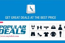 Online Popular Deals & Offers @ Mytokri / Find Popular deal & discount for online shopping. Get Popular discount offers on clothing, footwear, mobile phone, online bus ticket, and more. Grab Popular Deals form top online store like flipkart, snapdeal, amazon,