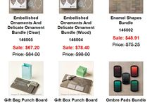 Stampin' Up Specials / Stampin' Up craft supplies on sale