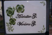 My porcelain paintings