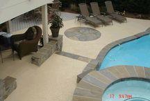 Cool Pool Decking