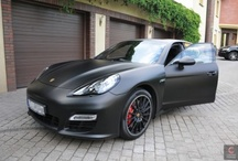 Porsche Panamera Turbo - black matt