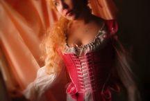 18th century dress / 18th century dresses, rococo stays, georgian corsets, Marie Antoinette
