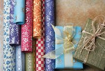 Holiday Wrapping & Gift Giving / 'Tis the season! Great ideas for sustainably wrapping presents this holiday season (and throughout the year)!