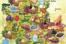 Trasimeno to Eat - Trasimeno da mangiare / Typical food in the Trasimeno area