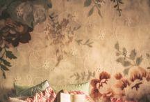 Wallpaper, Fabric, Tiles and Carpet