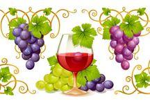 Obrazki - Wino