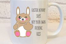 Easter Gifts / Naughty easter bunnies and such like