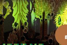 TweetMe Interactive Forest Installation