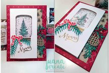 Stampin up 2016 Christmas cards