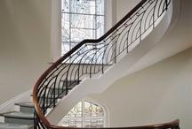 Art Deco korlát