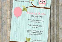 Birthday ideas / by Tina Sternberg