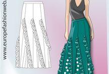 faldas rociera