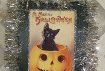 Vintage Inspired Shabby Chic Halloween Decorating / Beautiful handmade Upcycled and Shabby Chic Vintage Inspired Halloween gifts, decor and decorating inspiration. / by Lisa's Creative Designs