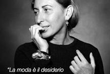 Made with style in Italy / Quote, ritratti e atmosfere della moda made in Italy del passato e del presente.