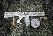 Beautiful weapons
