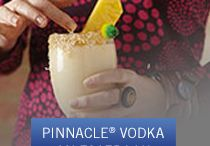 Pinnacle® Coconut Vodka / Enjoy delicious cocktails made with Pinnacle® Vodka Coconut. Premium vodka without the premium.