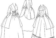 Costuming: Women, Early Georgian/Rococo / by Angela Super