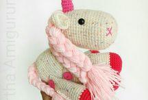 Unicorns - Unicornios Amigurumis / Unicorns Amigurumis by Mirtha Amigurumis Ecuador @mirthamigurumis