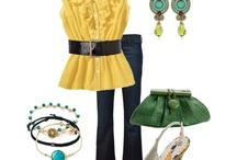 Fashion ~ Jeans (Yellow & Orange)