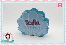 Festa Pequena Sereia / Procurando fofuras para a sua festa? Na nossa loja tem! http://loja.danifestas.com.br/