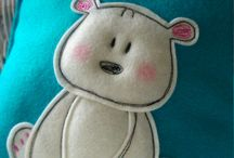 cute felt craft's