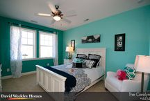 bedrooms / by Michele McK