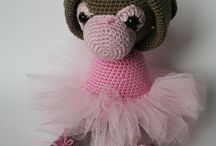 AMIGURUMI / animaux en crochet outricot ou couture